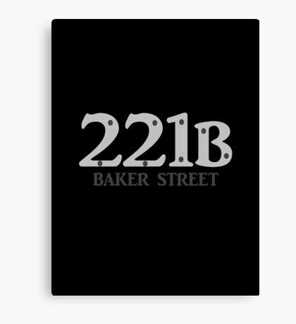 Sherlock - 221B Baker Street Canvas Print