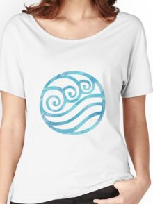 Watercolor Water Tribe Symbol Women's Relaxed Fit T-Shirt
