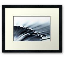 Steel hugging Framed Print