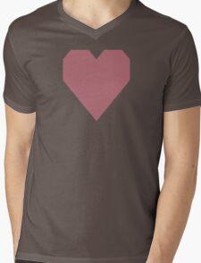 Rose Gold Mens V-Neck T-Shirt