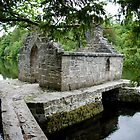 Monk's Fishing House at Cong Abbey by Rebecca Eldridge