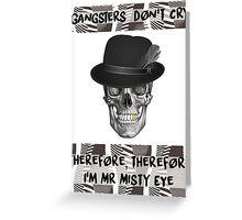 Mr Misty Eye - Twenty One Pilots - Heavydirtysoul Pattern  Greeting Card