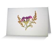 Pressed Beauty 01 Greeting Card