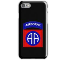 82nd Airborne iPhone Case/Skin