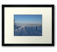 December Dawn Framed Print