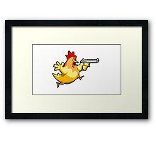 Counter-Strike: Naked Chicken Framed Print