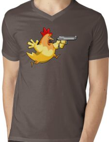 Counter-Strike: Naked Chicken Mens V-Neck T-Shirt
