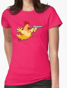 Counter-Strike: Naked Chicken Womens Fitted T-Shirt