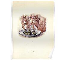 The Tale of Squirrel Nutkin Beatrix Potter 1903 0037 Plum Pudding for Brown Owl Poster