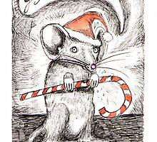 Mousy Christmas - candycanes aren't just for humans! by Jayne Walling