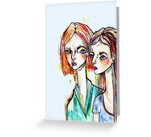 sisters Greeting Card