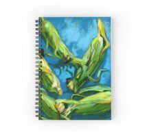 Corns on a Blue Tablecloth Spiral Notebook