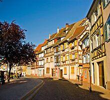 Afternoon walk in Colmar by Béla Török