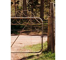 Gate-keeper Photographic Print