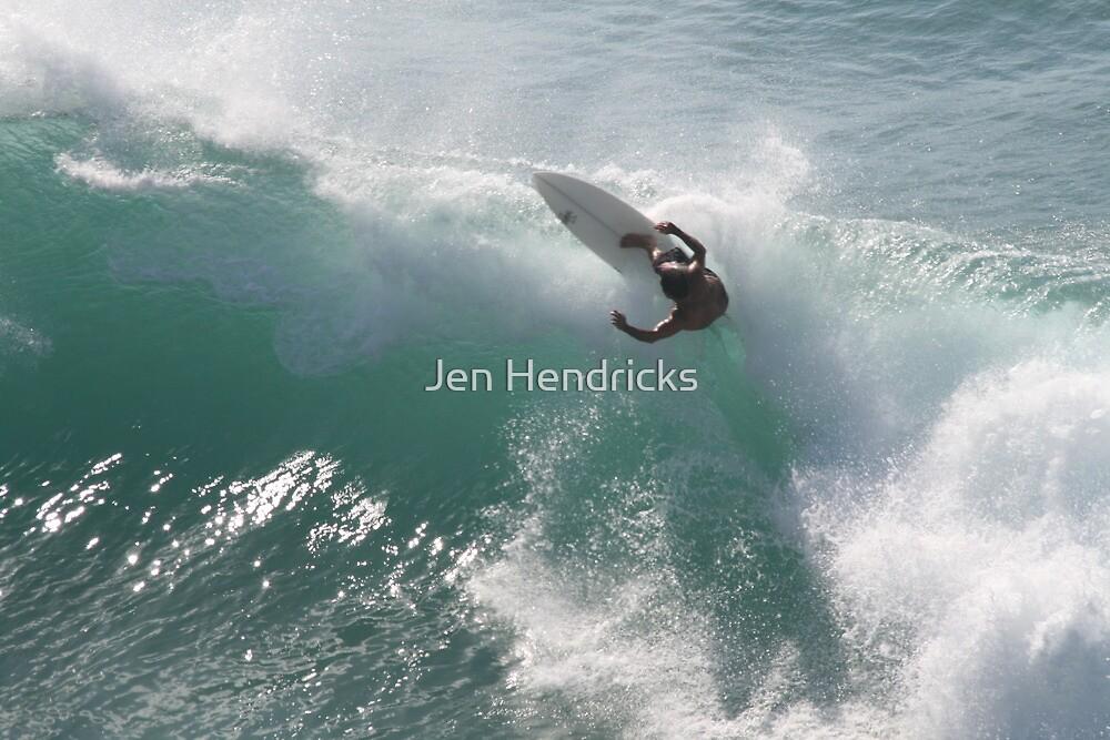 Surfing Jaws by Jen Hendricks
