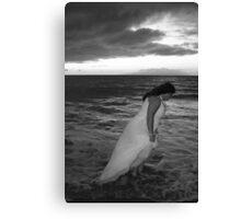 Stormy Bride Canvas Print