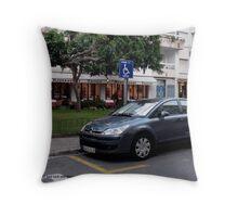 disabled spot Throw Pillow