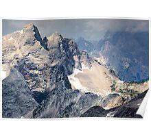 The Julian Alps from Mala Mojstrovka Slovenia Poster