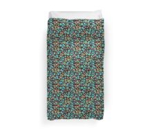 Hand drawn colorful pattern in ethnic style Duvet Cover