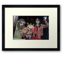 Scary no2 Framed Print