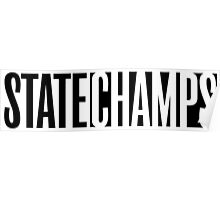 State Champs Logo Poster