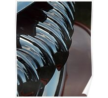 Older Car Reflections Poster