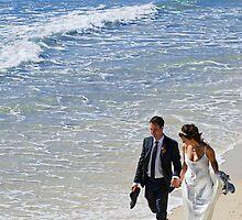 Beach Wedding by Ryan Carter