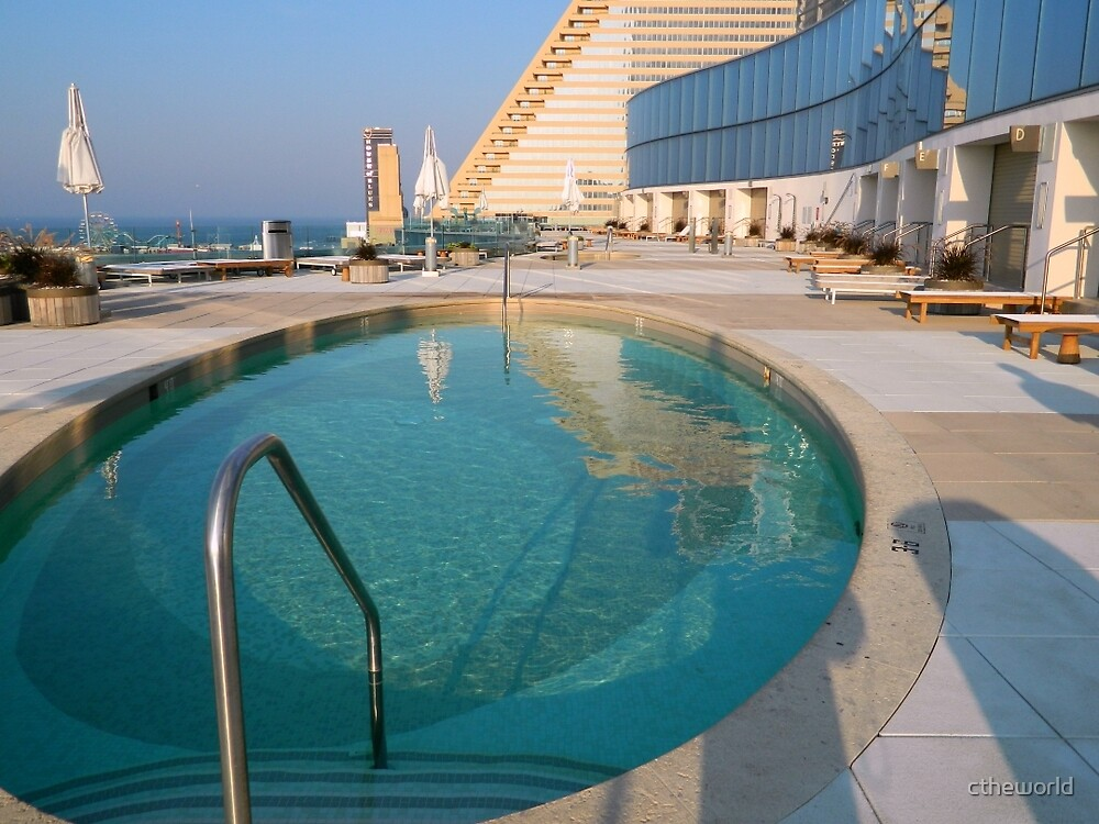Poolside at Revel by ctheworld