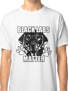 BLACK LABS MATTER 2 Classic T-Shirt