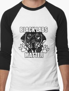 BLACK LABS MATTER 2 Men's Baseball ¾ T-Shirt