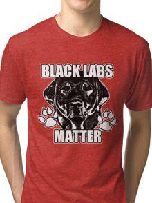BLACK LABS MATTER 2 Tri-blend T-Shirt