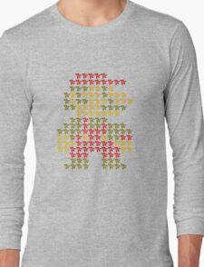 Mega-Mario-Man Long Sleeve T-Shirt