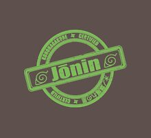 Konoha Jonin Green Distressed Unisex T-Shirt