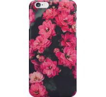 Hot Pink Kalanchoe iPhone Case/Skin