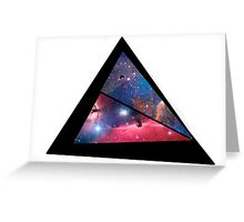 Abstract triangle Greeting Card