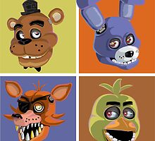 Four from FNAF by Robert Cross