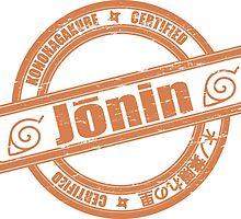 Konoha Jonin Orange Distressed by Methrade