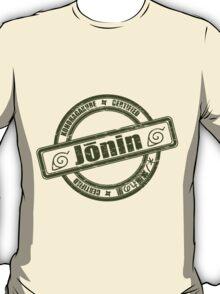 Konoha Jonin Army Green Distressed T-Shirt