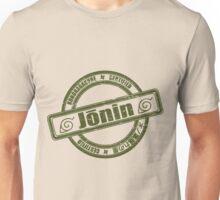 Konoha Jonin Army Green Distressed Unisex T-Shirt