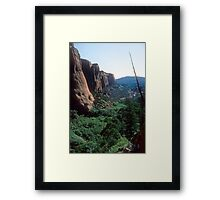 Tsegi Canyon, Navajo National Monument, Arizona Framed Print