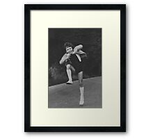 Stars to fill my dreams, to be where I have been . me!  anno domini 1958. by and about Brown Sugar . Views (282) Thanks !!! Framed Print