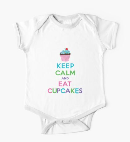 Keep Calm and Eat Cupcakes ll Kids Clothes