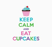 Keep Calm and Eat Cupcakes ll Womens Fitted T-Shirt