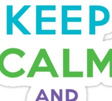 Keep Calm and Eat Cupcakes ll Sticker