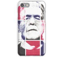Frankenstein's Monster, A ball point pen portrait.  iPhone Case/Skin