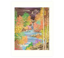 Water Trail Art Print