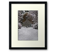 East Gate - Royal Botanic Gardens Edinburgh Framed Print