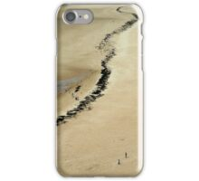 The Beach at Carteret, France iPhone Case/Skin