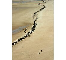 The Beach at Carteret, France Photographic Print
