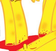 Fry Death Sticker